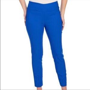 Jules & Leopold Royal Blue Skinny Ankle Pants